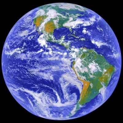 让我们来看一下我们的家——地球