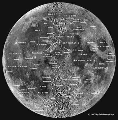 双筒镜环游月球
